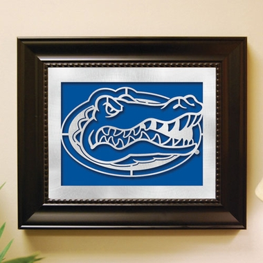 Florida Framed Laser Cut Metal Wall Art