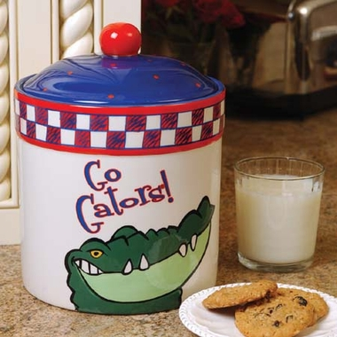 Florida Gameday Ceramic Cookie Jar