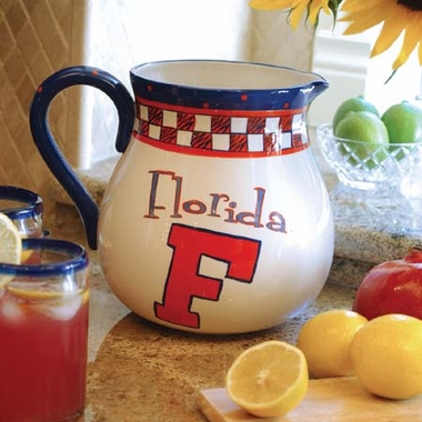 Florida Gameday Ceramic Pitcher