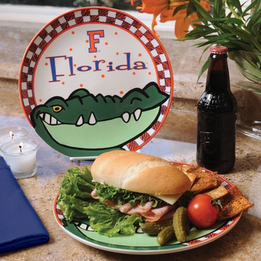 Florida Gameday Ceramic Plate