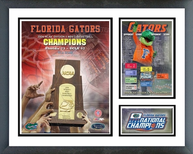 Florida Gators - 2006 NCAA Champions  /  Framed Milestones & Memories