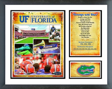 Florida Gators 2008 NCAA Champs; Framed Milestones & Memories #139