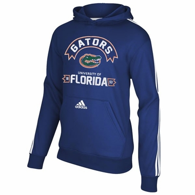 Florida Gators Adidas YOUTH 3-Stripe Hooded Sweatshirt