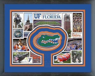 Florida Gators Framed Milestones & Memories
