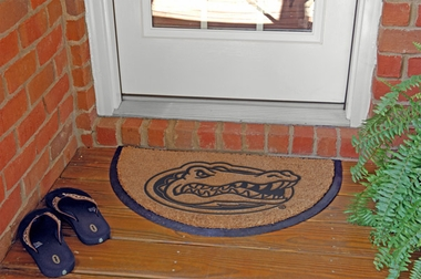 Florida Half Moon Door Mat
