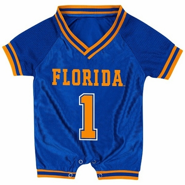 Florida Infant Pounce Football Jersey Onesie