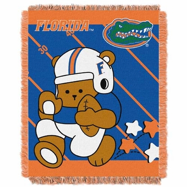 Florida Jacquard BABY Throw Blanket
