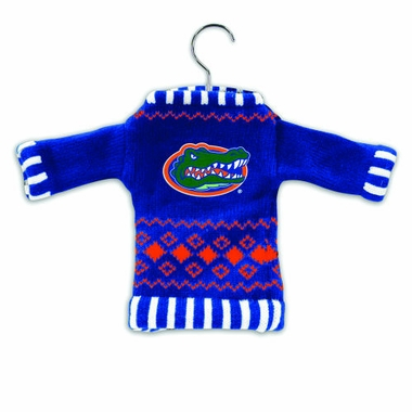 Florida Knit Sweater Ornament (Set of 3)