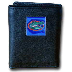 Florida Leather Trifold Wallet (F)