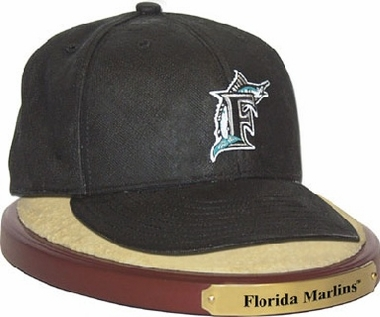 Florida Marlins Ball Cap Figurine