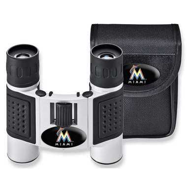 Miami Marlins Binoculars and Case