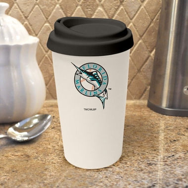 Florida Marlins Ceramic Travel Cup
