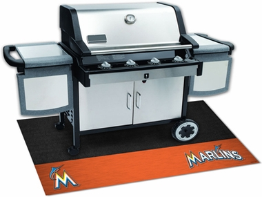 Miami Marlins Grill Mat