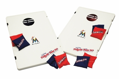 Miami Marlins Tailgate Toss 2.0 Cornhole Beanbag Game