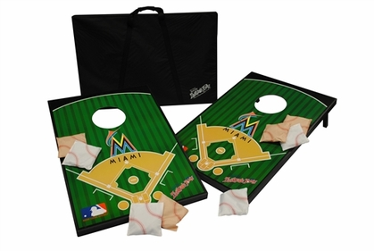 Miami Marlins Tailgate Toss Cornhole Beanbag Game