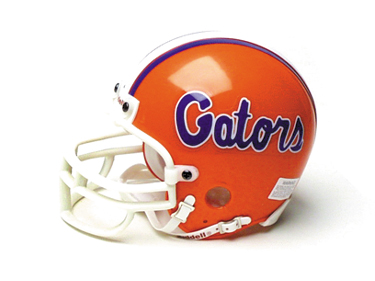 Florida Gators Replica Mini Helmet w/ Z2B Mask