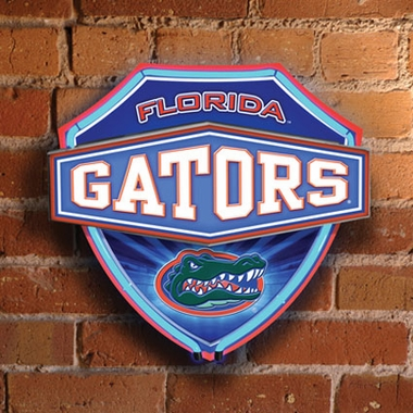 Florida Neon Shield Wall Lamp