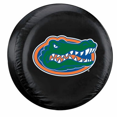Florida Gators Black Tire Cover - Size Large