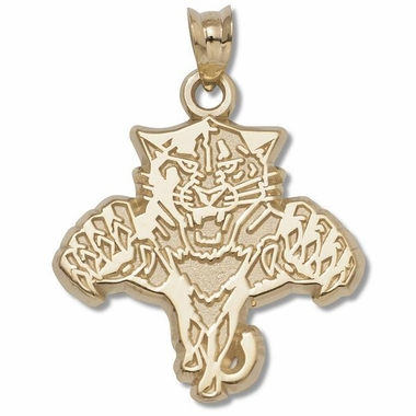Florida Panthers 10K Gold Pendant