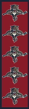 "Florida Panthers 2'1"" x 7'8"" Premium Runner Rug"