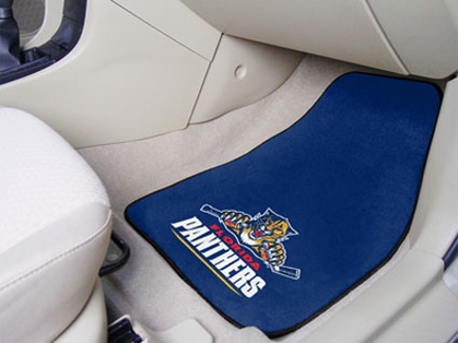 Florida Panthers 2 Piece Car Mats
