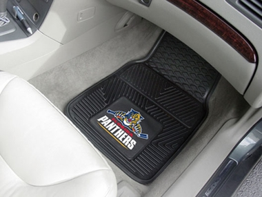 Florida Panthers 2 Piece Heavy Duty Vinyl Car Mats
