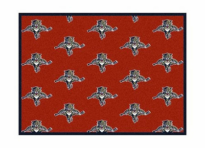 "Florida Panthers 3'10"" x 5'4"" Premium Pattern Rug"