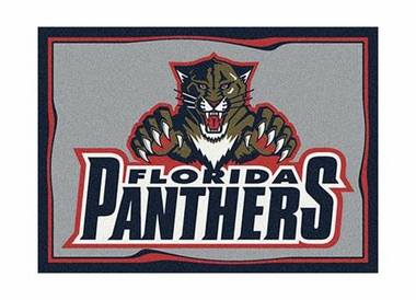 "Florida Panthers 3'10"" x 5'4"" Premium Spirit Rug"