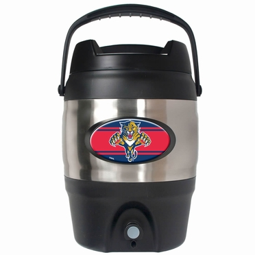 Florida Panthers 3 Gallon Stainless Steel Jug