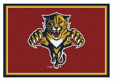 "Florida Panthers 5'4"" x 7'8"" Premium Spirit Rug"