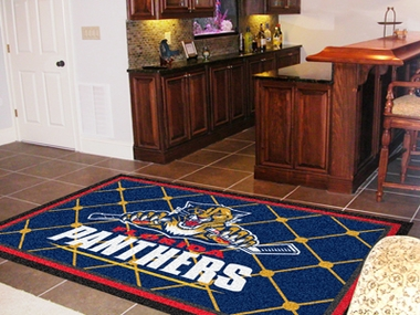 Florida Panthers 5 Foot x 8 Foot Rug