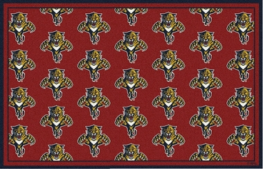 "Florida Panthers 7'8 x 10'9"" Premium Pattern Rug"