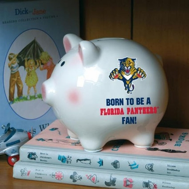 Florida Panthers (Born to Be) Piggy Bank