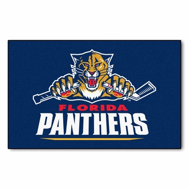 Florida Panthers Economy 5 Foot x 8 Foot Mat
