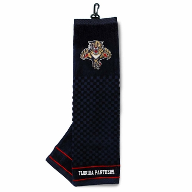 Florida Panthers  Embroidered Golf Towel