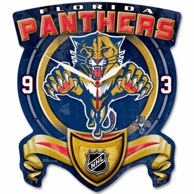 Florida Panthers High Definition Wall Clock