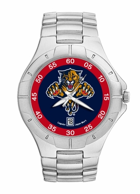 Florida Panthers Pro II Men's Stainless Steel Watch