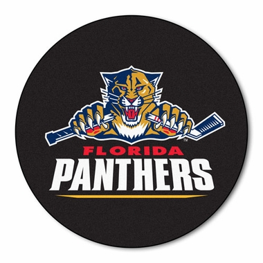 Florida Panthers Puck Shaped Rug