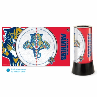 Florida Panthers Rotating Lamp