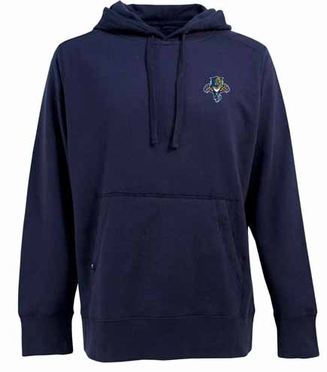 Florida Panthers Mens Signature Hooded Sweatshirt (Team Color: Navy)