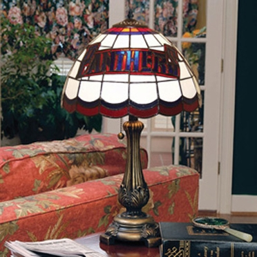 Florida Panthers Stained Glass Table Lamp