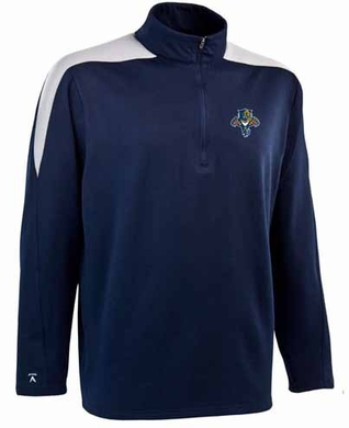 Florida Panthers Mens Succeed 1/4 Zip Performance Pullover (Team Color: Navy)