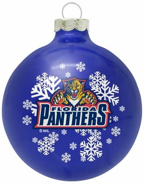 Florida Panthers Traditional Ornament