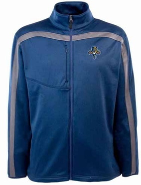 Florida Panthers Mens Viper Full Zip Performance Jacket (Team Color: Navy)
