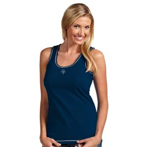 Florida Panthers Womens Sport Tank Top (Team Color: Navy) - X-Large
