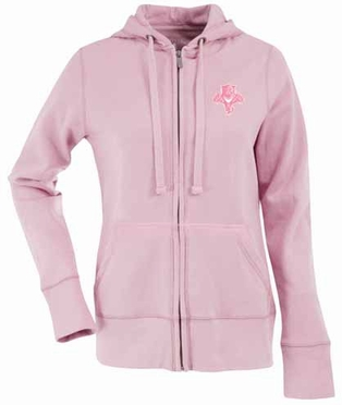 Florida Panthers Womens Zip Front Hoody Sweatshirt (Color: Pink)