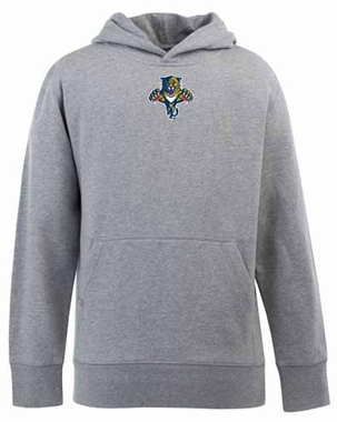 Florida Panthers YOUTH Boys Signature Hooded Sweatshirt (Color: Gray)