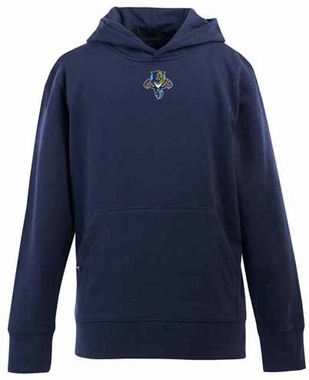 Florida Panthers YOUTH Boys Signature Hooded Sweatshirt (Color: Navy)