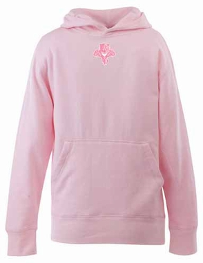 Florida Panthers YOUTH Girls Signature Hooded Sweatshirt (Color: Pink)