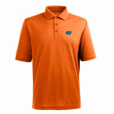 Florida Mens Pique Xtra Lite Polo Shirt (Color: Orange)